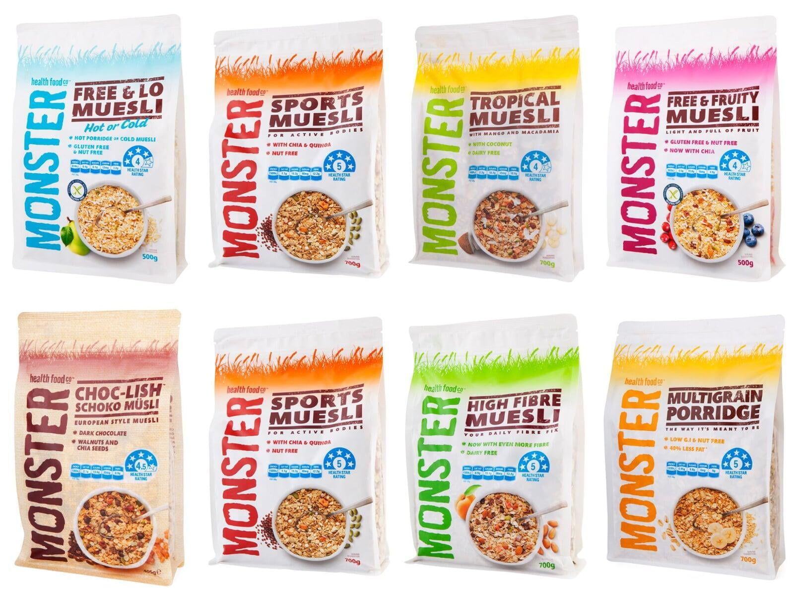 Monster Health Food Co Australia S Gluten Free And Nut Free Specialists